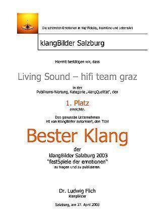besterklang2003 large - Auszeichnungen